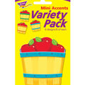 Apple Baskets Mini Accents Variety Pack, 36 Per Pack, 6 Packs