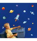 Komar Space Stickarounds, 24 Piece Set