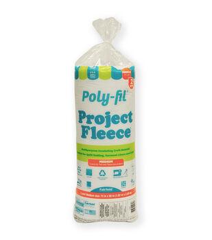 "Poly-Fil Project Fleece Batting 72"" x 90"""