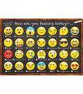 Smart Poly Chart 13\u0022x19\u0022 Emoji How Are You Feeling 10pk