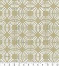 PKL Studio Upholstery Décor Fabric 9\u0022x9\u0022 Swatch-Chain Reaction Celery
