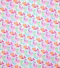 Novelty Cotton Fabric-Pastel Purmaids