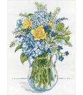 Design Works Crafts 10\u0027\u0027x14\u0027\u0027 Counted Cross Stitch Kit-Floral