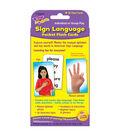 Sign Language Pocket Flash Cards, 3 Packs