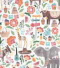 Premium Prints Cotton Fabric-Fiesta Animals
