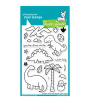 "Lawn Fawn Clear Stamps 4""X6""-Critters From The Past, , hi-res"