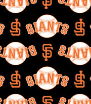 San Francisco Giants Fleece Fabric -Logo, , hi-res