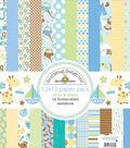 Doodlebug Double-Sided Paper Pack 12\u0022X12\u0022-Snips & Snails