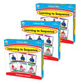 Learning to Sequence 3-Scene Board Game, Grade PK-1, Pack of 3