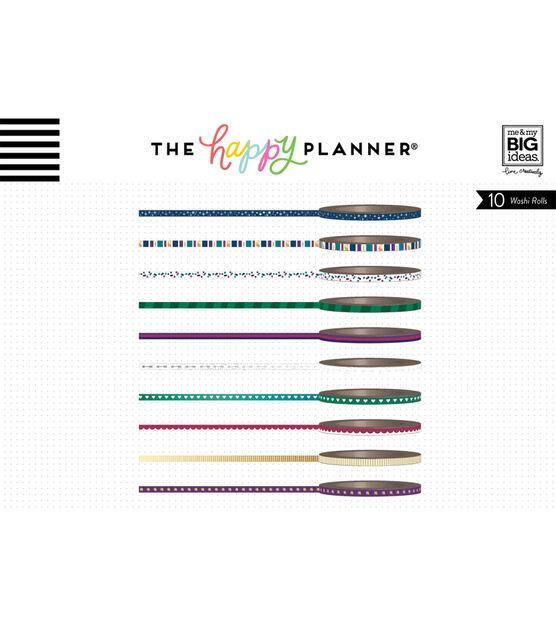 The Happy Planner Mini Washi Tape Jewel Tones, , hi-res, image 2