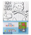 Little Makers 6X8 Canvas Kit-Pet