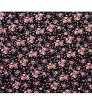 Super Snuggle Flannel Fabric-Ava Vintage Rose