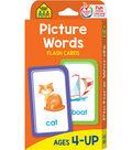 Flash Cards-Picture Words 53/Pkg