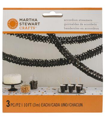 Martha Stewart CraftsBlack Accord Garland-Spooky Night