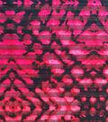 Performance Apparel Fabric-Tribal Print Shadow Stripe
