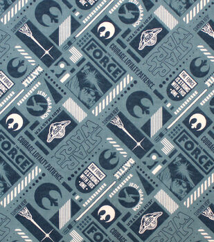 Star Wars Flannel Fabric-Rebel Gear