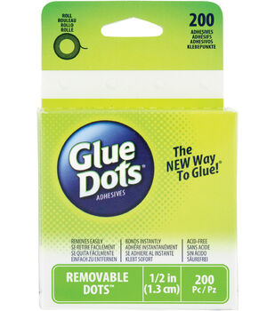 Glue Dots Removable Roll