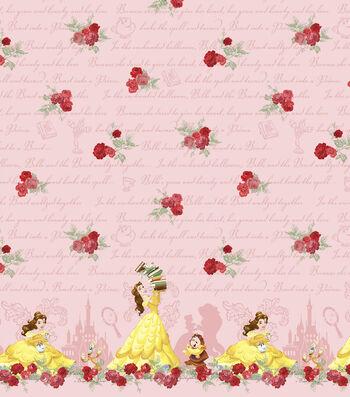 "Disney® Mock Smock Fabric 21""-Beauty and The Beast"