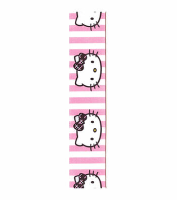 Hello Kitty Stripes Ribbon
