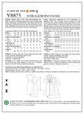 Vogue Patterns Misses Dress-V8875