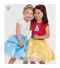 Simplicity Pattern 8627 Children\u0027s Disney Character Skirts-Size A (3-8)