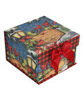 Maker\u0027s Holiday Small Mini Fliptop Storage Box-Beautiful Blessings