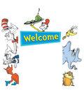Dr. Seuss Welcome Go-Arounds, 8 Pieces Per Set, 3 Sets