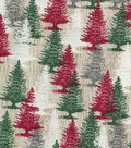 Christmas Cotton Fabric 43\u0022-Holiday Forest