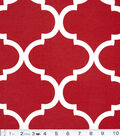 Solarium Outdoor Fabric 54\u0022-Bennington Cherry