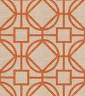 Eaton Square Lightweight Decor Fabric-Tangerine Bus