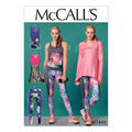McCall\u0027s Pattern M7446 Misses\u0027 Jacket & Tank Tops, Tunic & Leggings