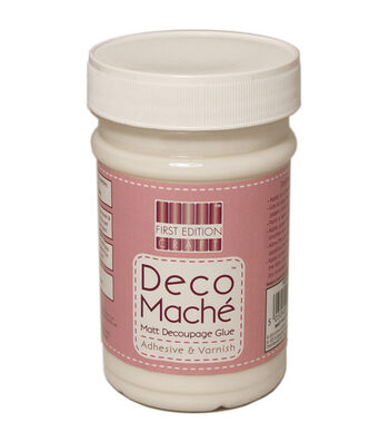 Deco Mache Adhesive & Varnish 250ml-Matte