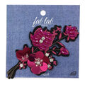 Fab Lab Wearables Cherry Blossom Iron-on Applique-Pink