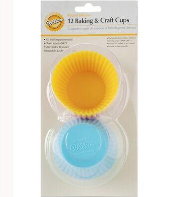 Wilton Round Silicone 12 Baking & Craft Cups