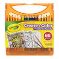Crayola Create & Color With Colored Pencils 65/Pkg