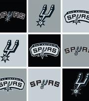 San Antonio Spurs Fleece Fabric -Block, , hi-res