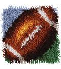Wonderart Latch Hook Kit 8\u0022X8\u0022-Football