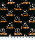 Pittsburgh Steelers Cotton Fabric 58\u0027\u0027-Black