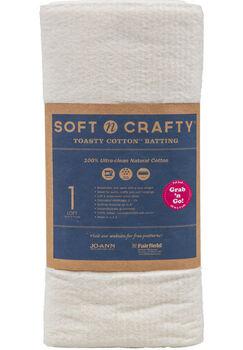 "Fairfield Soft N Crafty Toasty Cotton Batting 45""X5yds"