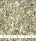 Premium Wide Cotton Fabric 108\u0022-Oil Slick Tan