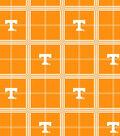 University of Tennessee Volunteers Flannel Fabric 42\u0022-Plaid