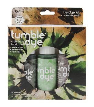 SEI 2 oz. Tumble Dye Craft & Fabric Tie-Dye Kit-Camo