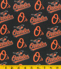 Baltimore Orioles Cotton Fabric 58\u0027\u0027-Logo
