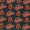 Baltimore Orioles Cotton Fabric -Logo