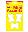 Dog Bones Mini Accents, 108 Per Pack, 6 Packs