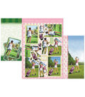 Hunkydory Crafts Luxury Decoupage Set A4-Game, Set, Match & Tee Time