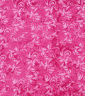 Keepsake Calico Cotton Fabric 43\u0022-Carmine Rose Textured Scroll