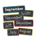 Chalk It Up! Months of the Year Mini Board Set