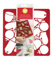 Wilton Holiday Multi-Cookie Cutter Sheet, , hi-res