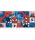 Marvel Comics Spiderman Cotton Fabric -Spiderman Tile